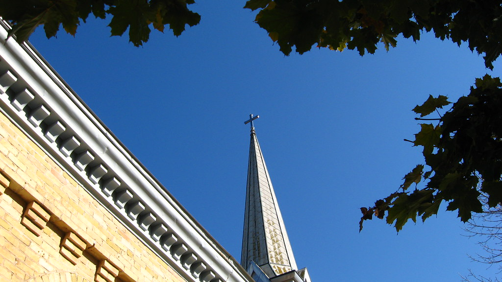St. Peter's Church - steeple