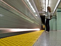 floor, yellow, light, interior design, metro station, infrastructure,
