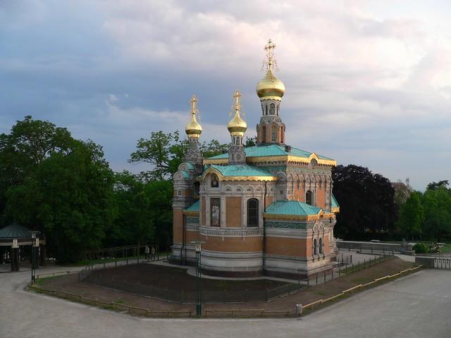 Darmstadt Russische Kapelle