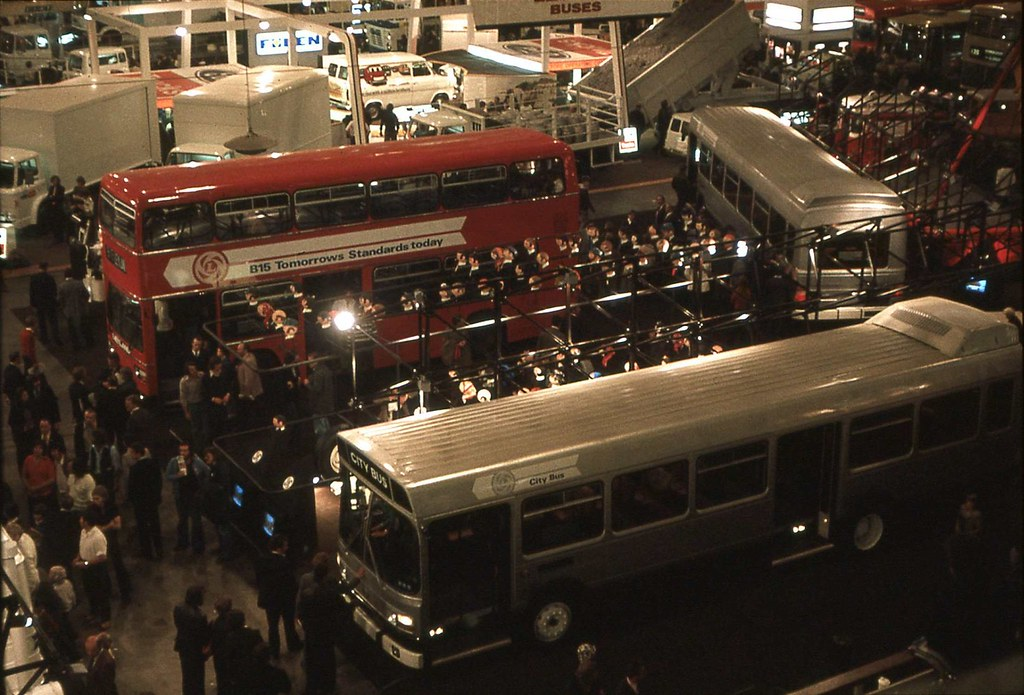 The Leyland Stand at the 1976 Commercial Motor Show