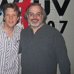 Steve Forbert at WFUV with Darren DeVivo