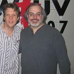 Steve Forbert at WFUV with Darren DeVivo