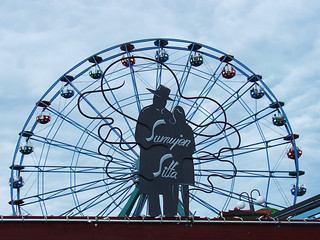 Bilde av Rinkeli. sign suomi finland ferriswheel amusementpark linnanmäki dscv1 borgbacken rinkeli sumujensilta