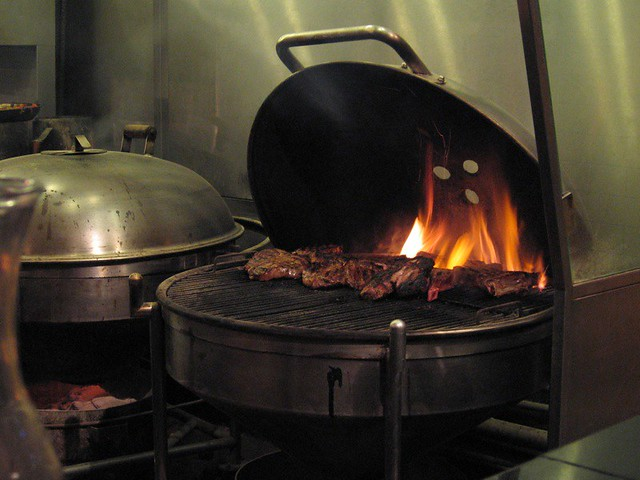 Weber grill restaurant they charcoal grill inside flickr photo sharing - Charcoal grill restaurant ...