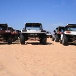 Buggies nas dunas