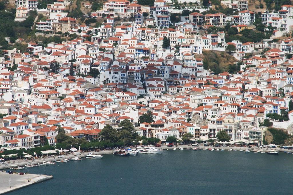 остров Скопелос греция