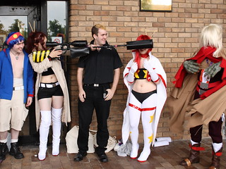 Gurren Lagann Cosplayers