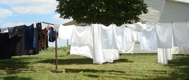 Clothesline, Amish Community of Ethridge TN