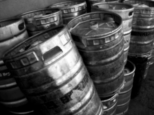 Beer Kegs, State Fair, St. Paul, MN