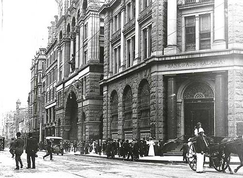 George Street, Sydney 1910