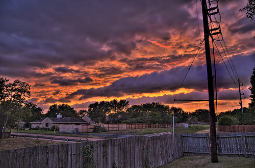 sunset cloud storm clouds blog hurricane ike hdr d300 tamron1750