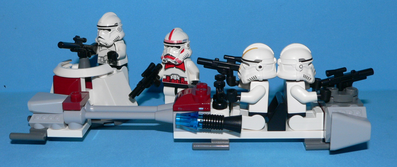 Star Wars Lego 7655 Clone Troopers Battle Pack 02