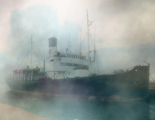 Ship in the fog - Dawn Breaker | For nizurack and the ...