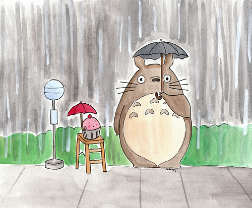 Custom request, Cuppie and Totoro