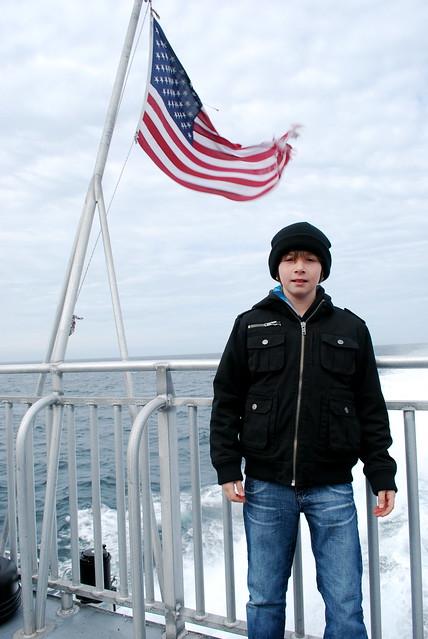 Header of seafarer
