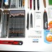Graphite pencils mechanical pencils and leadholders collection and accessories close up 2