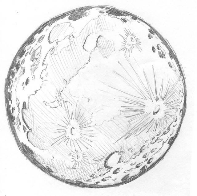 Moon Drawing