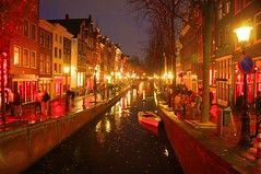 A stroll through the DeWallen Red Light District - Things to do in Amsterdam