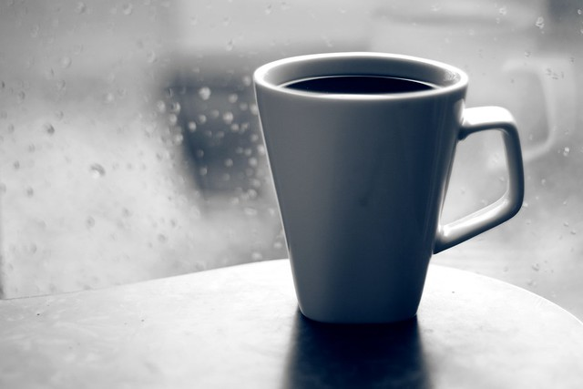 Hot Coffee on a rainy day from Flickr via Wylio