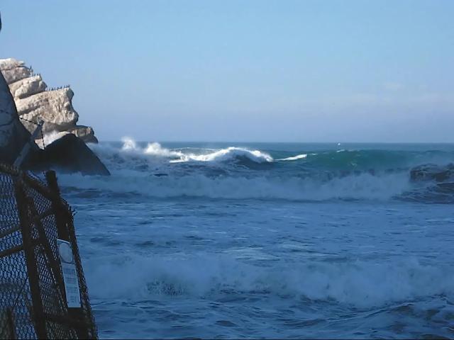 Video of Lone Morro Bay Surfer - big-waves-at-morro-rock ...