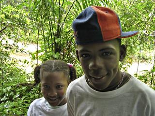Kids in Samana