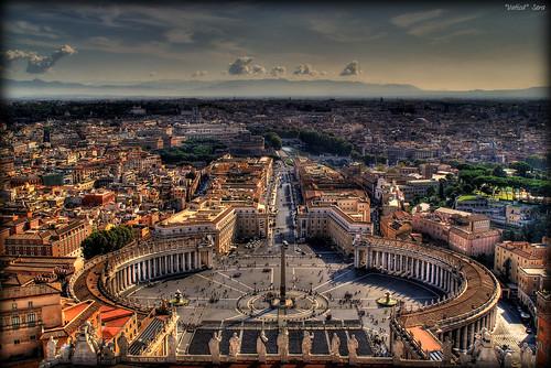 italy panorama rome roma italia view basilica ciudad vaticano vista hdr italie myfavs cita ciutat spietro vaticà sonya100 aplusphoto platinumheartaward vaticcan seracat santperederoma