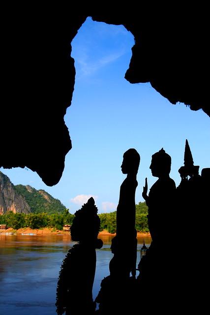 Buda silhouettes – Laos