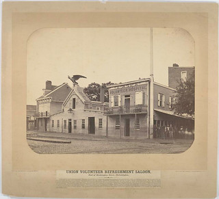 Union Volunteer Refreshment Saloon, foot of Washington Stree...
