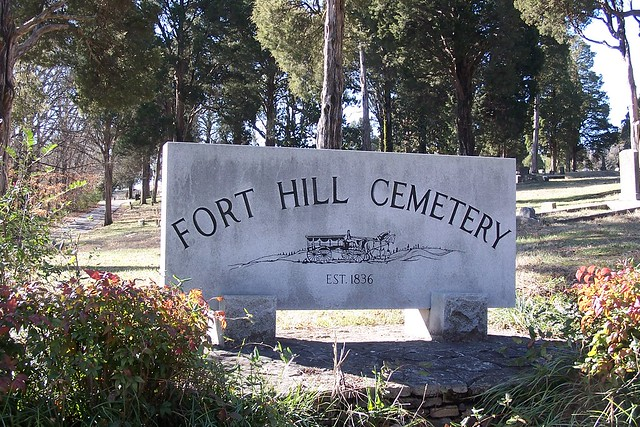 Entrance To Fort Hill Cemetery Cleveland Tennessee