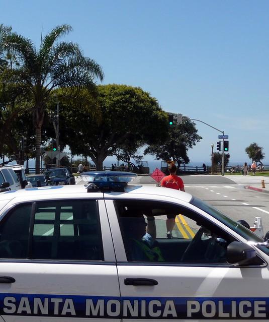 Santa Monica Police Car Santa Monica Los Angeles County
