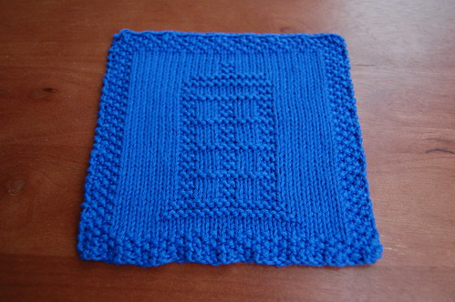 TARDIS Washcloth