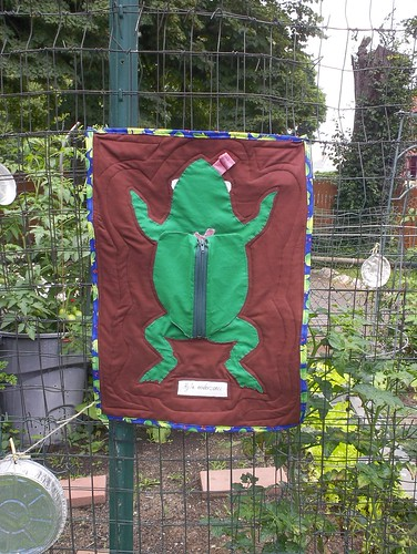 Dissected Frog Wall Hanging
