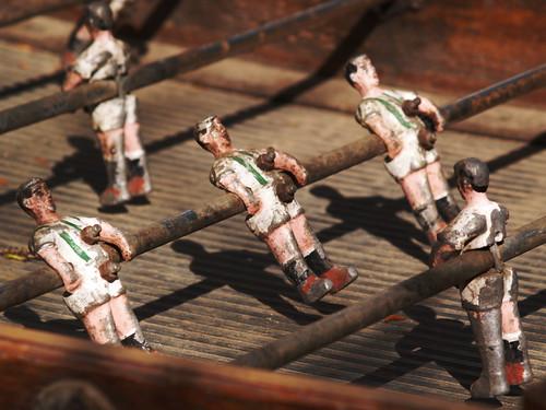 Futbol n the origins of foosball pocketcultures - Who invented table football ...