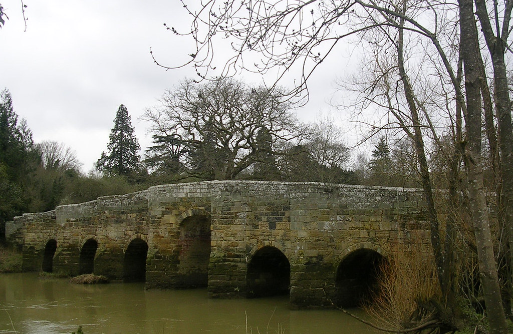 Stopham bridge again.... Pulborough Circular