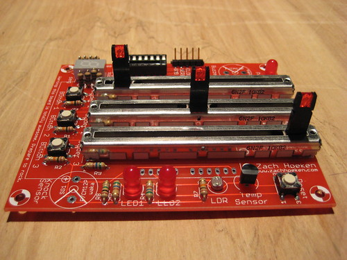 Sliders (Linear Potentiometers)