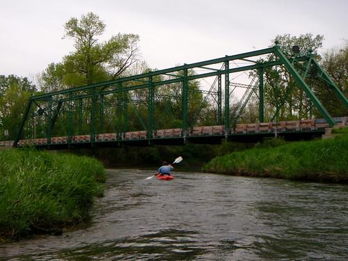 old bridge ohio water creek river landscape outdoors town big stream kayak floating historic canoe darby float paddling putin dirigo