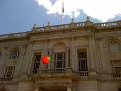 Portuguese Flag at Municipal Building