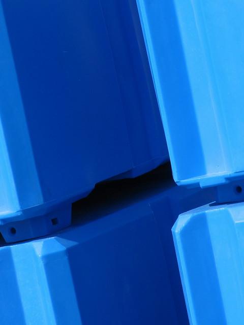 Blå kløft -|- Blue cleavage
