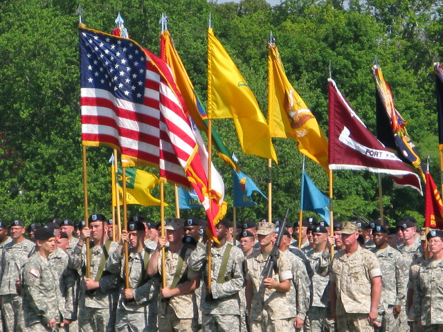 Header of American Soldiers