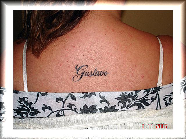 Tatuagem nome nas costas 3 a photo on flickriver tatuagem nome nas costas 3 altavistaventures Gallery