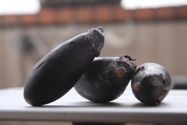 * E for Eggplants *