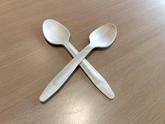wing(0.0), propeller(0.0), silver(0.0), spoon(1.0), tool(1.0), tableware(1.0), cutlery(1.0),