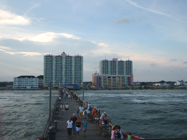 Cherry grove pier sc flickr photo sharing for Myrtle beach pier fishing report