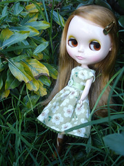 Aurelia in the Garden