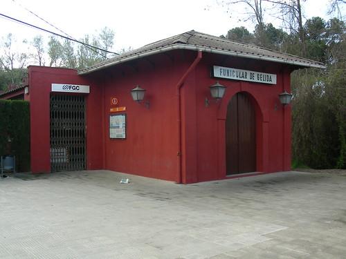 Estació inferior del Funicular