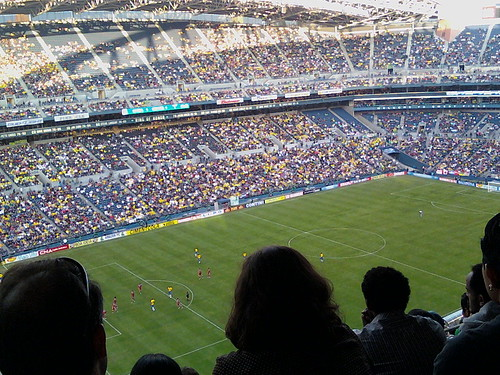 Soccer: Brazil vs. Canada
