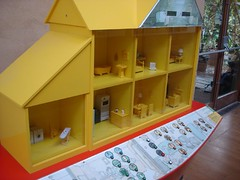 house, dollhouse, scale model, toy,