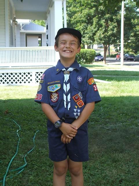 Cub Scout Face Painting Rank Achievement