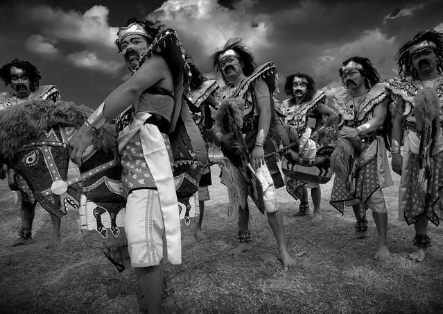 Kuda Lumping dancers, Java, Indonesia