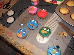 Sesame Street Cupcakes I